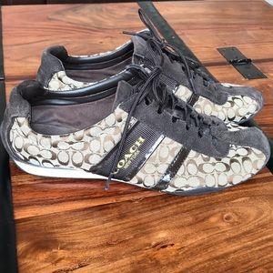 Coach Remonna Signature C Patent Sneakers 👟